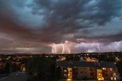 Lightnings over Lakewood, CO (Nickie A Photography) Tags: stacks lightning lakewood colorado