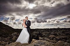 Gerður & Matti (LalliSig) Tags: iceland summer wedding photographer brúðkaup brúðkaupsljósmyndari grindavík portrait portraiture people lava field