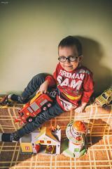 little fireman (maszup) Tags: boy firefighter sam