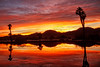Beautiful Morning Reflections (http://fineartamerica.com/profiles/robert-bales.ht) Tags: arizona facebook foothills forupload freshwater haybales people photo photouploads places projects states sunsetorsunrise sunset sunrise golden red lake pond yuma palmtree weeds reflection silhouette peaceful spiritual inspiring inspirational evening relaxing unitedstates panoramic southwest trees twilight wow dramatic emotion environment desert sunrays sky yellow nature outdoor water colorful sun dawn horizontal tranquil exotic orange mountain robertbales gilamountains sunlight romantic vacation clouds palm landscape