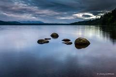 A moody sunrise (Summer 2017) (Jami Cottam) Tags: 2017 nature scenery scotland summer sunrisesunset water
