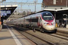 ETR 610 Johann Wolfgang von Goethe vs ETR 610 Trenitalia (limaramada) Tags: etr 610 trenitalia joahann wolfgang von goethe new look sbb cff ffs