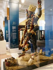 The Goddess Kali, Bengali (jacquemart) Tags: bloomsbury britishmuseum london thegoddesskali bengali statue religion