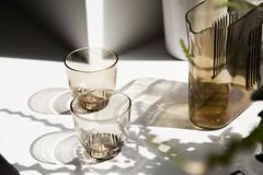 RidgeKitchen-set-smoke-lifestyle-01 (Charles & Marie) Tags: glasses areaware glassware ridgekitchen carafe visibility pitcher