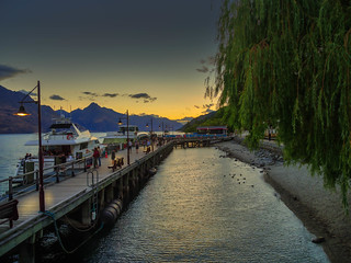 Queenstown goes to sleep (Explored)