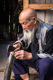 Old Man in Guilin