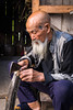 Old Man in Guilin (mlhell) Tags: china cormorantfishermen guilin portrait rural xingping