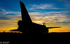 LPG Evening Shoot 24 Feb 18 © Steven Harrison-Green (73 of 128) (harrison-green) Tags: english electric lightning lpg bruntingthorpe qra quick reaction alert shed aircraft fast jet british britain raf royal air force f3 f6 night evening light dark photoshoot shadow silhouette shgp sunset colur color preservation group canon 700d 18200mm