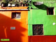 Facades of Colombia (emilioescalona) Tags: colombia bogotá southamerica facades doorsandwindows lifestyle home casasantigguas luzysombra colores