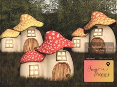 {YD} Mushroom Doll House (*Your Dreams*) Tags: dollhouse yourdreams newdécor mushroomhouse we♥loveroleplay