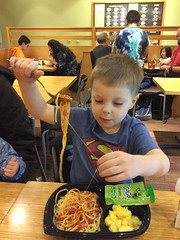"""Paul Eats Spaghetti • <a style=""""font-size:0.8em;"""" href=""""http://www.flickr.com/photos/109120354@N07/25788588327/"""" target=""""_blank"""">View on Flickr</a>"""