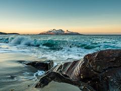 The Island of Landegode (frodekoppang) Tags: landegode olympus olympusomdem5markii olympus1240mm winterlandscape january norwegianlandscape northernnorway norway ocean waves