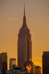 Golden Morning (dansshots) Tags: dansshots nikon nikond750 nyc newyorkcity newyork empirestatebuilding morninglight sunrise sunrisecolors 70200mm skyscraper nycskyline