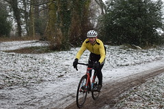 DSC_0037 (sdwilliams) Tags: cycling cyclocross cx misterton lutterworth leicestershire snow