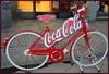 La Coca-bike! (magister111) Tags: red firenze florence bikes