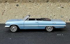 1963 Chevrolet Impala SS 409 Convertible (JCarnutz) Tags: 124scale diecast franklinmint 1963 chevrolet impalass 409