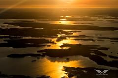 Window seat, please! Scandinavian sunrise (gc232) Tags: scandinavia sunrise norway aerial photography canon g7x altitude