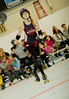 085 (Bawdy Czech) Tags: lcrd lava city roller dolls cinder kittens cherry bomb brawlers skate rollerskate bout bend oregon or february 2018 juniorderby juniors rollerderby lavacityrollerdolls