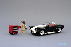AC Shelby Cobra revised 01 (_lichtblau_) Tags: shelby cobra lego moc lichtblau 6wide