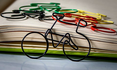 paperclips (3OPAHA) Tags: macromondays hmm paperclips fastener bicycle sony
