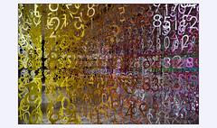 Chiffré (afantelin) Tags: emmanuellemoureaux installation montrouge salonminiarttextile2018 hautsdeseine nombre couleurs papier 2017 chiffre