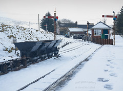 no trains today (DMC Photogallery) Tags: station narrowguage railway leadhills snow winter
