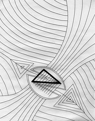 Resistance and Flow (Daniel Ari Friedman) Tags: danielarifriedman danielfriedman drawing draw art pen ink paper freehand cartoon philosophy bw black white abstract vision