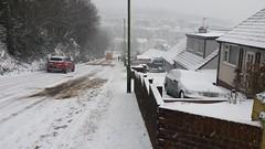 White Out Torbay. (christianiani) Tags: kingsash torbay slippery steep hill hazardous dangerous snow whiteout