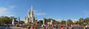 Cinderella's Castle - Magic Kingdom (fisherbray) Tags: fisherbray usa unitedstates florida orangecounty orlando baylake disney waltdisneyworld wdw disneyworld magickingdom themepark nikon d5000 cinderellascastle castle panorama autostitch