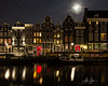 The Singel Canal (Amsterdam, Holland 2015) (Alex Stoen) Tags: 1dx alexstoen alexstoenphotography amsterdam canals canon canoneos1dx ef1635f28liiusm flickr google history holland lifeinthecity longexposure night nocturnal redlightdistrict reflections singelcanal singelgebied streetphotography travel urbanjungle water citylights facebook oldquarter