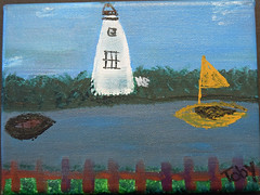 View From SmacNally's-Bertha Hosey #6 (ocracokepreservationsociety) Tags: ocracoke ops obx ocracokeisland opsauction art