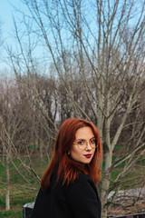 Sguardo a Est (domjuniorlemma) Tags: milan forest wood model models photography photographer photobooth girl boy morning milano lombardia parco park forlanini autumn winter bridge ponte hair nature sun rain
