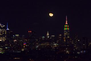 January Wolf Moon, NYC