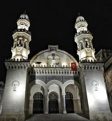 Mosque Ketchaoua in Algiers (Amberinsea Photography) Tags: mosqueketchaoua alger algiers algeria mosquee amberinseaphotography nightphoto photography travel trip phototour