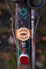 Rafadi Schutz - Bike Insurance (suzanne~) Tags: 100bicycles bike project detail munich germany rafadischutz
