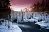Frozen Beauty (AngSweet23) Tags: frozen newhampshire longexposure winter sunset