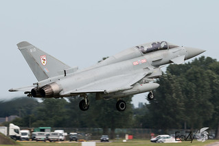 ZJ810 Royal Air Force Eurofighter Typhoon