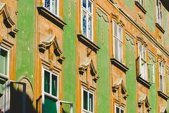 (c) Wolfgang Pfleger-8068 (wolfgangp_vienna) Tags: ljubljana slovenien slovenia green grün fassade barock baroque house
