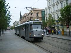 Brno tram No. 1052 (johnzebedee) Tags: tram transport vehicle publictransport brno czechrepublic johnzebedee tatra tatrak2