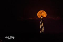 Tonight's Super Blue Blood Snow Moon. (James Kellogg's Photographs) Tags: saint st augustine lighthouse maritime museum snow moon full eclipse lunar blood