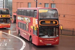 NXWM 4812 @ Moor Street Queensway, Birmingham (ianjpoole) Tags: national express west midlands alexander dennis enviro 400 bx09pfo 4812 working route 16 upper dean street birmingham green lane hamstead
