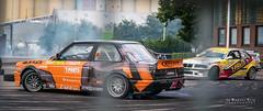 Drifting race during Hjulafton Lidköping Aug 2017 (m3dborg) Tags: drift drifting racing race motorsport sportscar hjulafton lidköping street engine tire smoke
