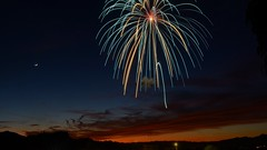 Fireworks! (Lone Rock) Tags: arizona fireworks lakehavasucity sarapark unitedstates usa gordoncottrell