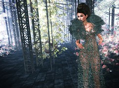 Living a Fantasy (kare Karas) Tags: woman lady femme girl girly fantasy magic cute beauty pretty solu colors virtual avatar secondlife game outdoors nature event diva elegant mesh gown sheer jewelry poses sensual seductive fashion style jumo propose 68mainevent