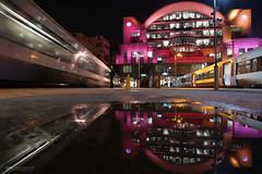 Lights at Charing Cross (Luke Agbaimoni (last rounds)) Tags: london train transportforlondon reflection rain night