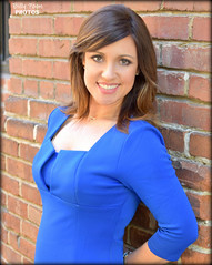Jaclyn Dunn KPIX 5 (billypoonphotos) Tags: jaclyn dunn kpix kpix5 cbs cbs5 traffic reporter anchor billypoon billypoonphotos san francisco bay area news photo portrait picture broadcaster broadcasting sacramento kcra bio nikon nikkor d5500 35mm 35 mm lens media twitter facebook pretty girl lady woman morning show wall brick blue dress tv television