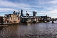 London Nov 2017 609 - The City from the Millennium Bridge (Mark Schofield @ JB Schofield) Tags: thames london river embankment city more millenium tower bridge stpauls shard tall cityscape canon eos 5dmk4