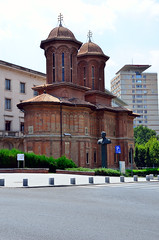 Kretzulescu Church (Gedsman) Tags: romania europe bucharest wallachia history historical tradition traditional capital beauty travel blueskies modern architecture