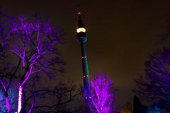 Winterleuchten 15 (Gi123456789****) Tags: florianturm fernsehturm dortmund winterleuchten nacht westfalenpark