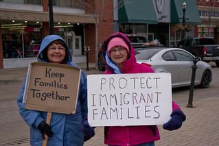 Rally to Save DACA Racine Wisconsin 3-5-18  0153